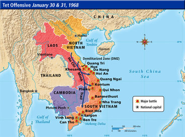 Vietnam War - G10 The Cold War and the Elements of Global Power on map korea dmz 1967 1968, map of vietnamese demilitarized zone, map of dmz korea,